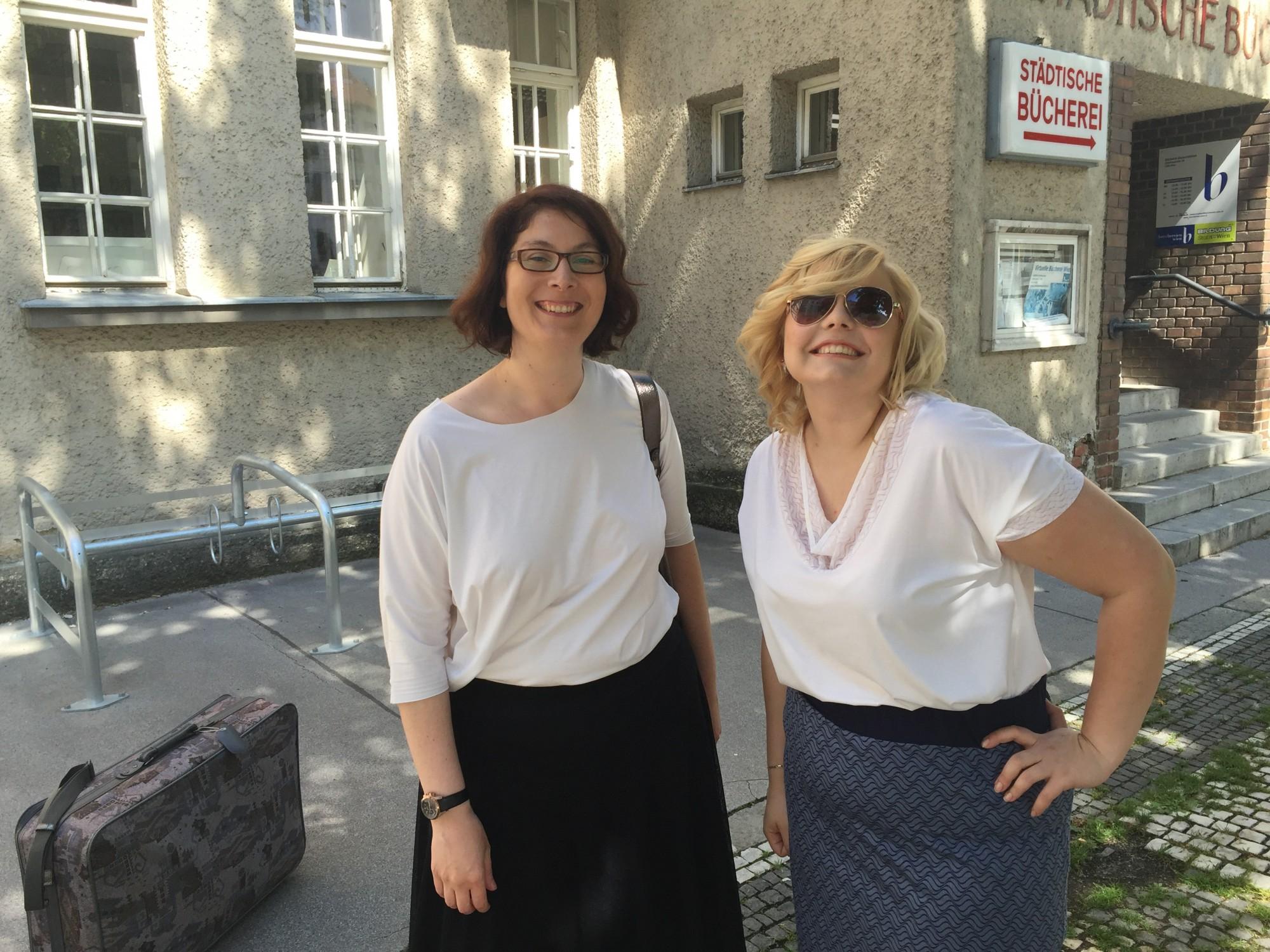 Miriam Jezek & Stephanie Lüer – Spaß bei der Arbeit