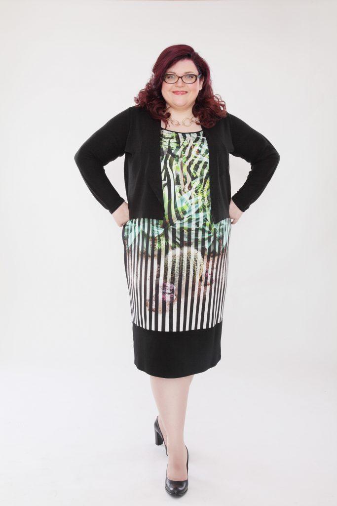 Ja, Plus Size-Frauen sind auch glücklich! (c) Curvect / Fotograf: Robert Peres