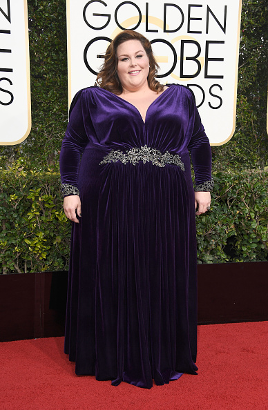 BEVERLY HILLS, CA - JANUARY 08: Actress Chrissy Metz attends the 74th Annual Golden Globe Awards at The Beverly Hilton Hotel on January 8, 2017 in Beverly Hills, California. (Photo by Frazer Harrison/Getty Images)