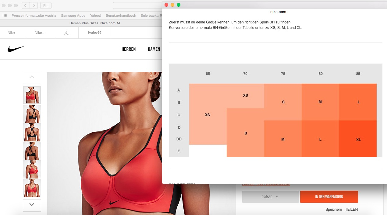(c) Nike Web Shop