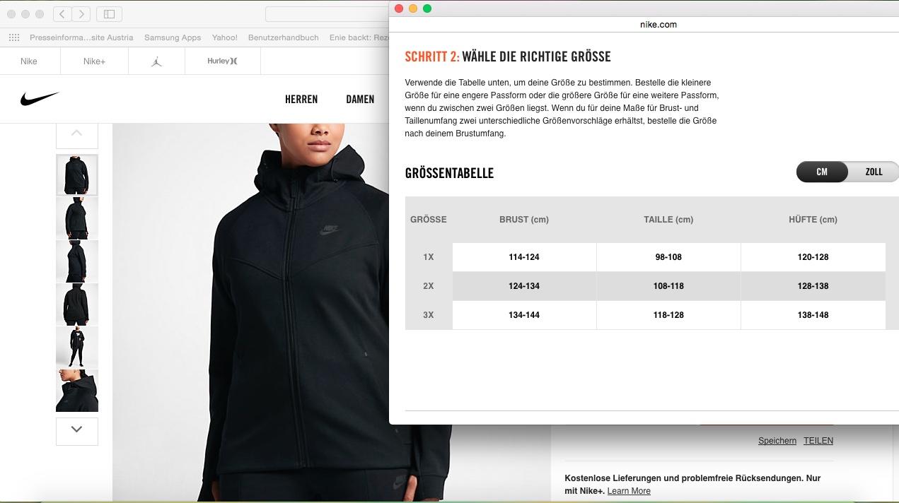 Nike Web Shop