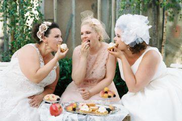 Curvect Bride – drei Bräute, drei Stile, viel Spaß