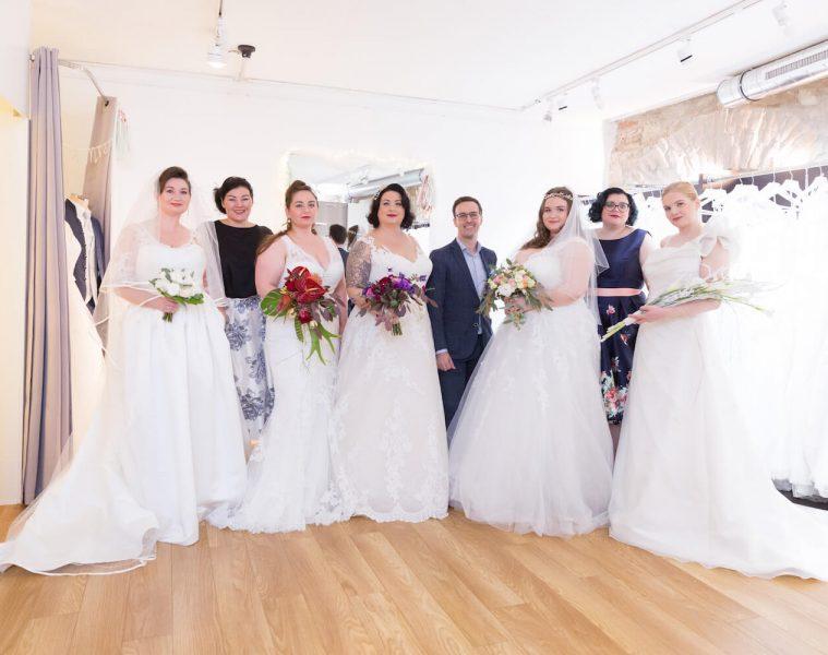 Curvect Bride Salon, die Brautkleider in voller Schönheit