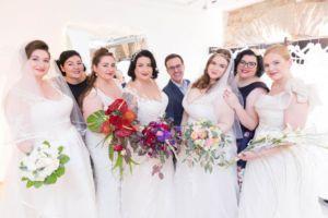 Curvect Bride Salon, die wunderschönen Models