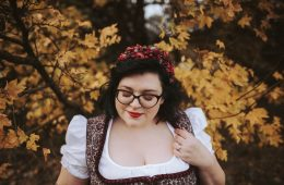 Dirndl-Brau, die verträumte Braut, Titelbild