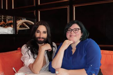 Bobby interviewte Conchita