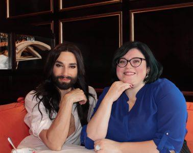 Bobby interviewte Conchita