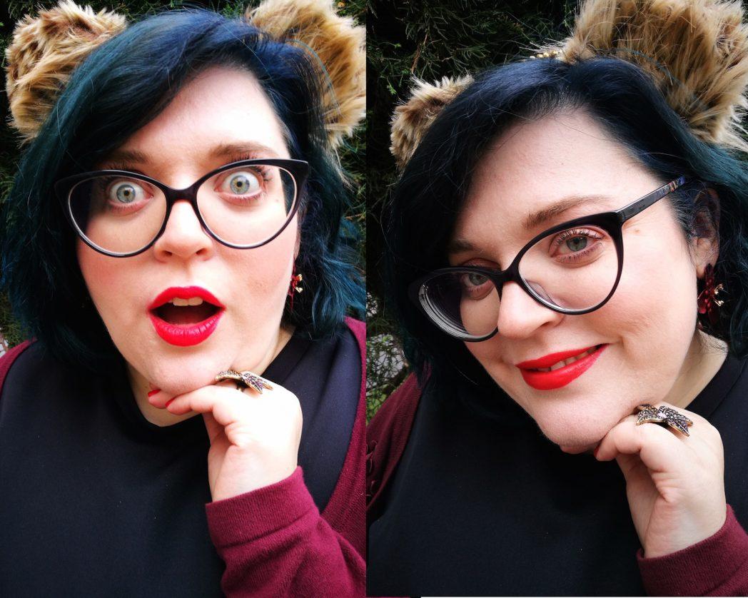 Halloween Tigerohren stehen mir gut