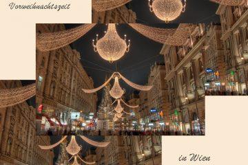 What to Do in der Vorweihnachtszeit in Wien, Titelbild, Beleuchtung Graben