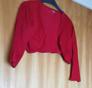 Plus Size Online Flohmarkt_Monsoon_Bolero_rot