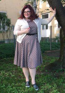 Plus Size Online Flohmarkt_PrettyWoman_Punktekleid